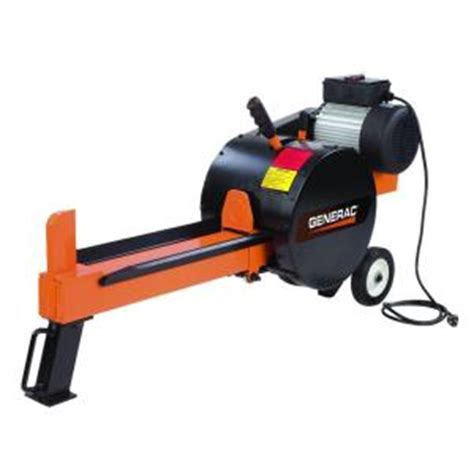 generac 10 ton 15 kinetic electric log splitter