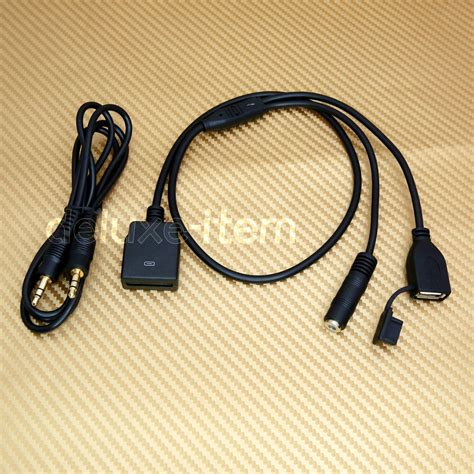 Konektor Converter Mircousb Iphone Lightning Connector 3 5mm mp3 player phone aux in input cable adapter for bose