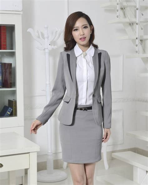 female working suits 2015 fashion formal pant suits for women trousers suits winter