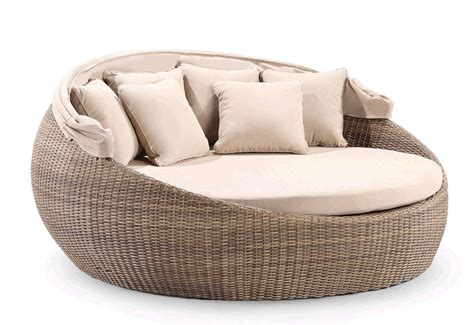 large round couch large outdoor wicker round day bed sofa couch rattan sun