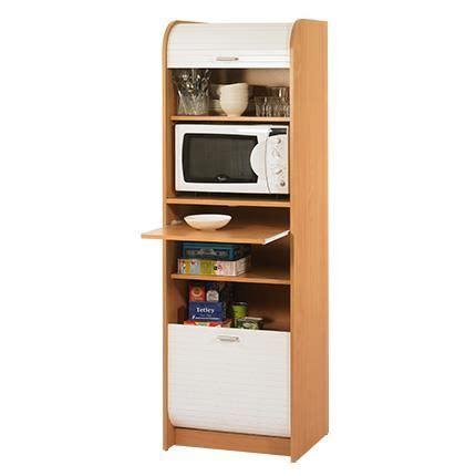 meuble cuisine colonne four micro onde grand meuble micro onde achat vente desserte billot