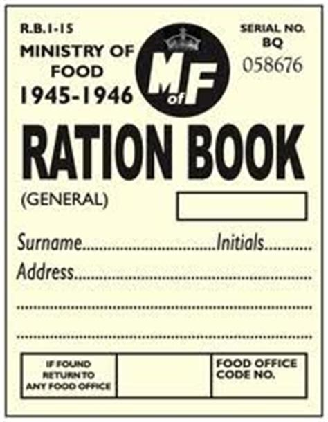 printable ration book template world war 2 ration book template ww1 and ww2 pinterest