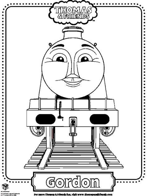 free coloring pages of thomas percy james