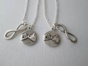 Infinity Bff Necklace Best Friend Necklace Best Friend Gift 2 Promise