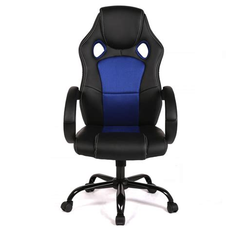 desk gaming chair new high back race car style seat office desk chair