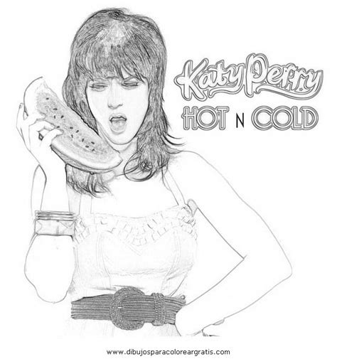 Free Coloring Pages Of Da Katy Perry Katy Perry Coloring Page