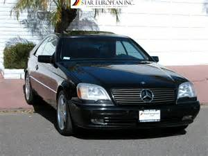 1997 mercedes s 600 coupe only 52 000 original