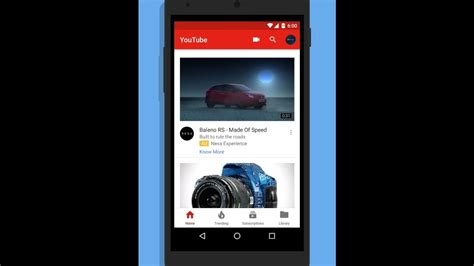 ui layout refresh new youtube ui refresh update for android march 2017