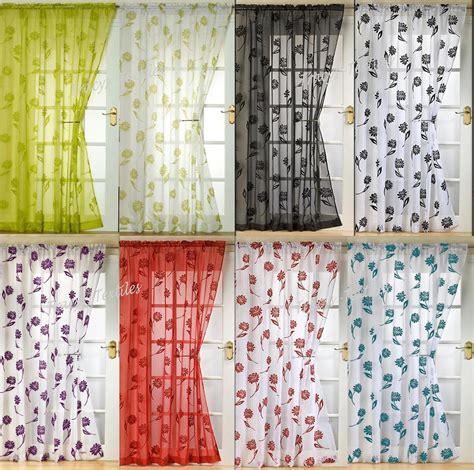 pattern net curtains voile panel net curtain 14 great designs 48 quot 54 quot 72 quot 90