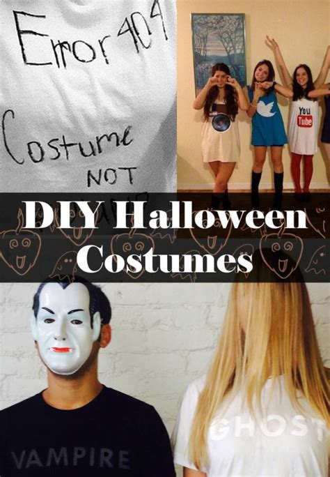 good halloween costumes last minute last minute halloween costumes made with t shirts
