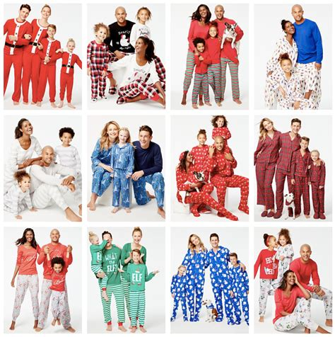 christmas matching pajamas