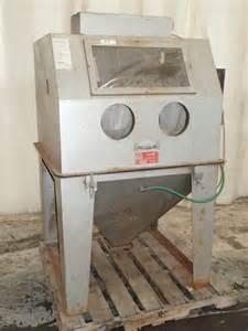 Trinco Blast Cabinet Used Trinco Blast Cabinet Hgr Industrial Surplus