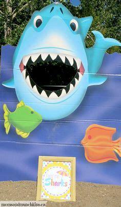 shark bean bag toss pool on 23 pins