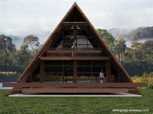 A Frame House Plans casa alpina moderna de madera arquitectura de casas