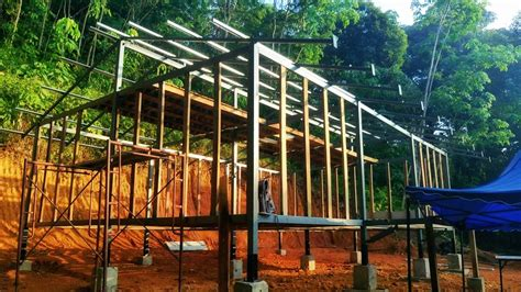 steel frame cabin how to build a jungle cabin in 3 days heat space and light