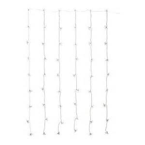 ikea string of lights ikea strala curtain of led