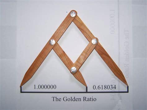 golden section gauge fibonacci gauge arts and crafts golden ratio design tool phi