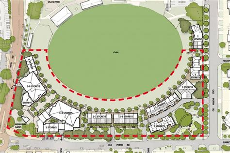 pictures of plans new apartments site released at claremont oval business news