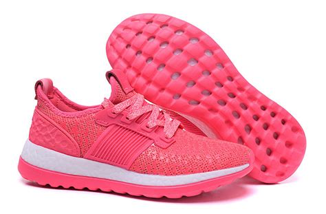 adidas boost zg shoes pink white adidas pink white shoes