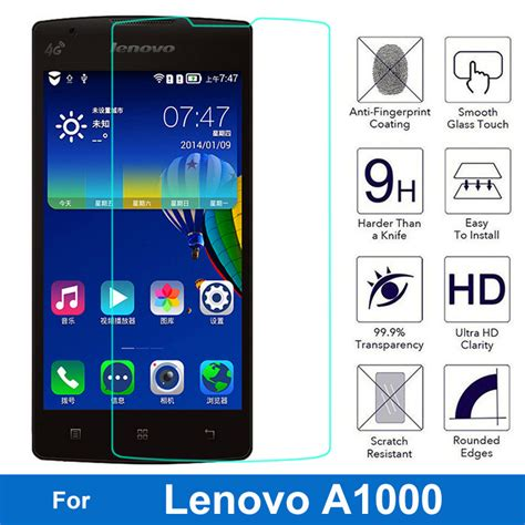 Lenovo A1000 Tempered Glass Screen Protector 9h original tempered glass ᗑ screen screen protector for