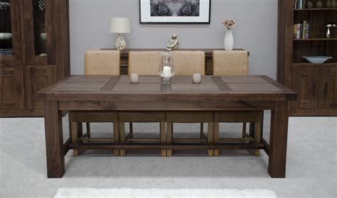Oversized Dining Room Tables Kendo Solid Walnut Dining Room Furniture Large Extending Dining Table Ebay