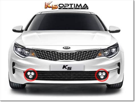 kia fog lights k5 optima store 2016 2018 kia optima led fog ls