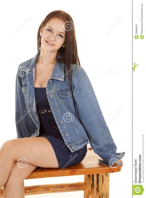 girls bench jacket girl bench sit jacket stock images image 33680924