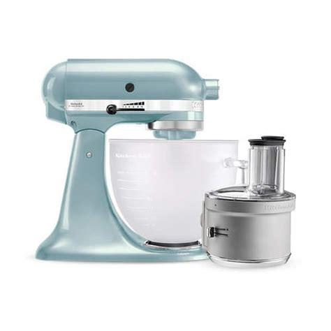 Kitchenaid Food Processor Vs Attachment Kitchenaid Platinum Collection Ksm156 Stand Mixer Frosted
