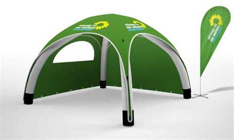 pavillon zum aufpumpen pavillon kaufen mit werbedruck ersetzt deinen messestand