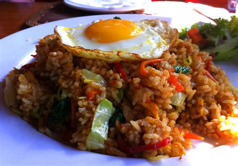 nasi goreng recipe indonesian fried rice recipe dishmaps