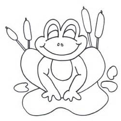 Frog Coloring Pages Sheets  Pictures sketch template