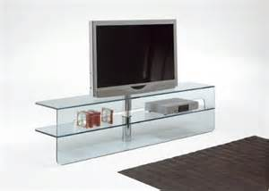 modern glass tv stands from tonelli of italy