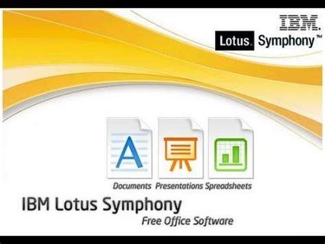 ibm lotus symphony free ibm lotus symphony senai aiimmrl11t