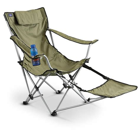 sports recliner chairs mac sports 174 deluxe footrest chair 172784 chairs at