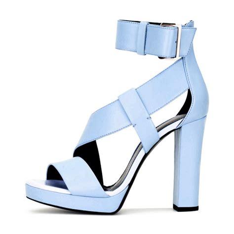 light blue block heels baby blue heels ha heel