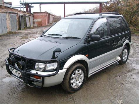 service manual how to remove a 1993 mitsubishi rvr engine and transmission service manual