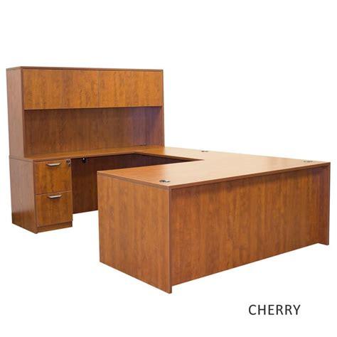 Sfu Help Desk by Ofd Office Furniture Front U Shape Desk W Hutch