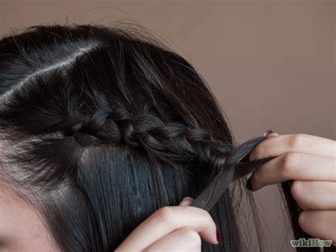 lace braid step by step how to do a hidden dutch lace braid 7 steps with pictures