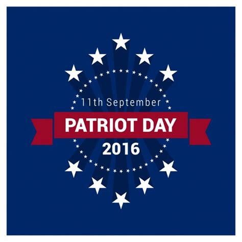 patriot day 2016 vector free