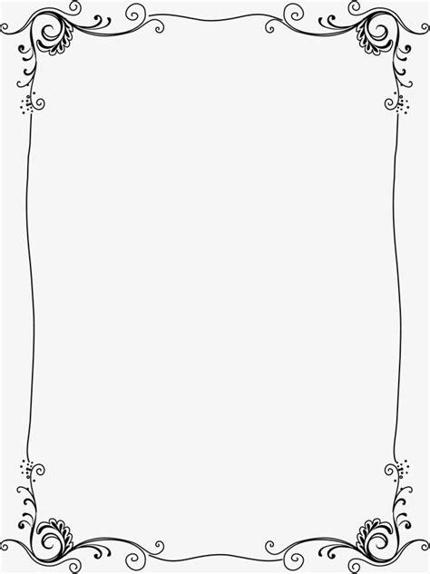 Borda Transparente, Vertical, Fronteira, Quadro Imagem PNG
