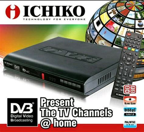 Ichiko 8000hd Set Top Box Dvb T2 jual beli set top box ichiko dvb 8000hd alat penerima
