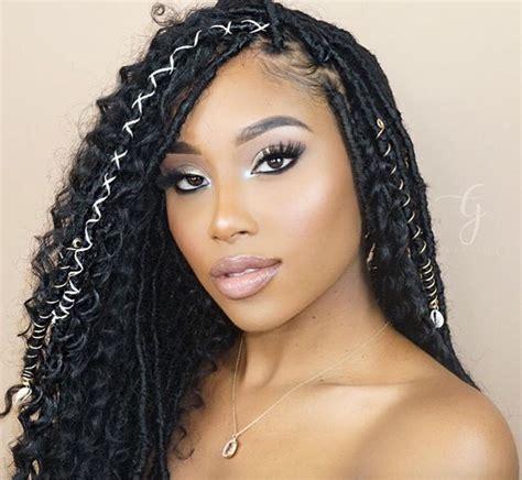hair styles for locked hair gorgeous faux locs gabriellaelena black hair information