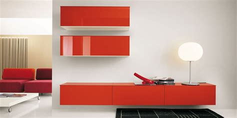 Kitchen Cabinets Cost Estimate by Red Lacquered Italian Contemporary Entertainment Center