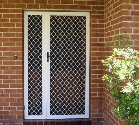 Aluminium Security Doors Geelong - security doors security door colours