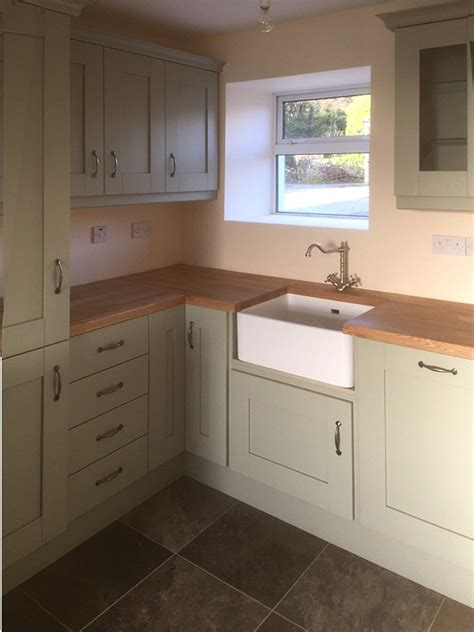 Kitchens Letterkenny by Handpainted Green Kitchen Letterkenny County