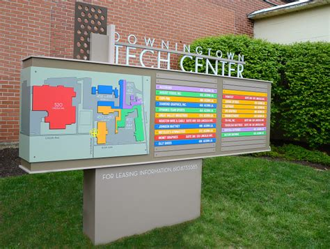 downingtown tech center lh sign company philadelphia pa