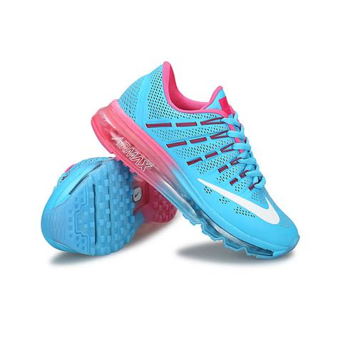nike air max light blue womens womens nike air max 2016 leather light blue pink running