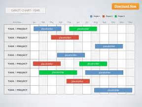 Gantt Calendar Template by Keynote Template Gantt Chart Year