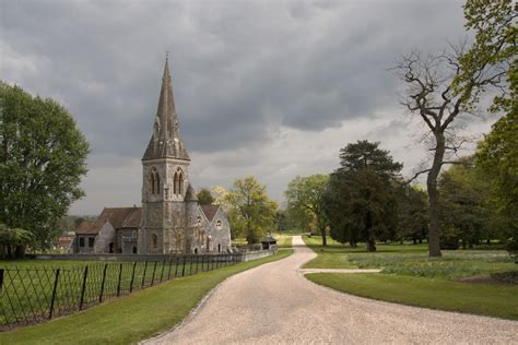 englefield berkshire quot englefield estate church quot by peter mcfarlane at
