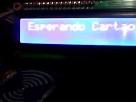 brincando com um arduino (rfid rc522+serial i2c 1602 16×2